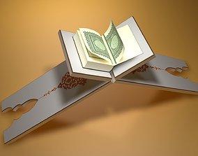 3D model animated Quran