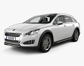 Peugeot 508 RXH with HQ interior 2012 3D
