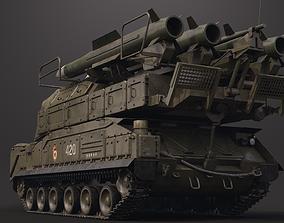 9K37 BuK M-2 SA-17 Grizzly 3D model