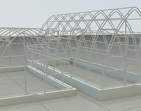 Greenhouse warehouse 3D