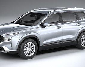 3D Hyundai SantaFe Basic 2021
