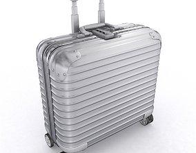 Aluminium business trolley 3D
