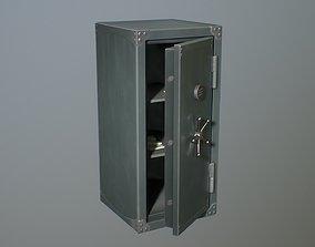 Safebox locker PBR Game-ready 3D model