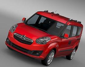 3D model Opel Combo Tour D 2015