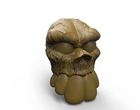 3D print model Skull artistic design concept