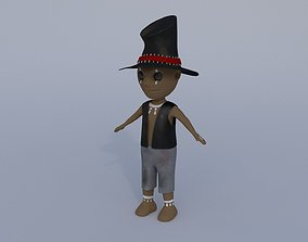 cute Voodu the Witch Doctor 3D