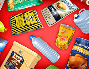 3D model Survivalist Gourmet Pack