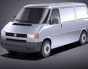 3D model Volkswagen T4 Van 1990-2003 VRAY