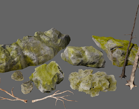 3D asset Realistic Forest Pack
