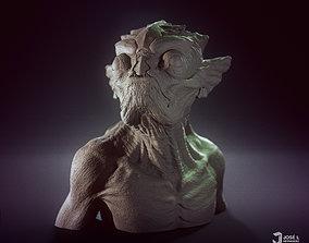 face FishFace Creature - 3D print