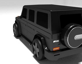 3D model Mercedes Benz G63 AMG Brabus