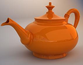 3D model game-ready Teapot