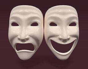 3D model Theater Mask V2