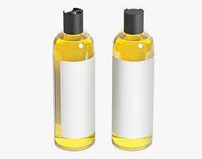 Shampoo Bottle 04 3D model