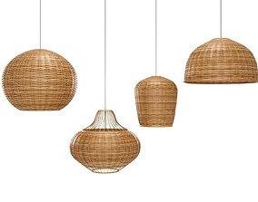 Bamboo Lamp 3D