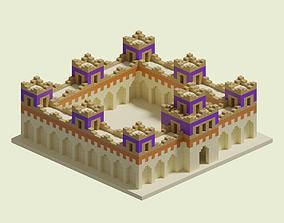 Babel Walls 3D model