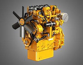 3D C2-2 - 4 Cylinder Diesel Engine