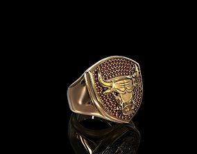 3D print model Ring Chicago Bulls