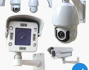 CCTV Security Camera Pack 3D