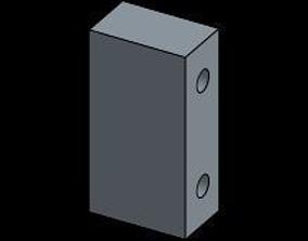 3D printable model tamiya tt-01 servo mount