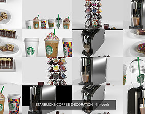 3D STARBUCKS COFFEE DECORATiON