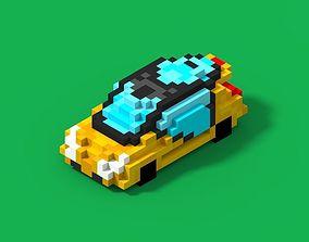 Voxel Fercar 3D model