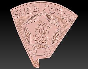 3D print model Badge Fire