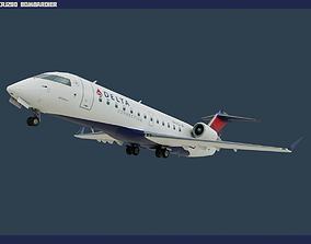 3D asset CRJ200 Delta