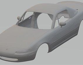 Mazda Miata 1995 Printable Body Car