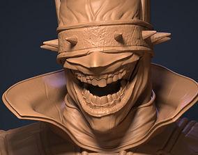 3D printable model joker Batman who laughs
