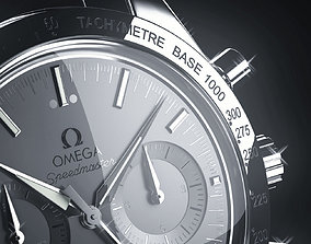 jewelry 3D model Omega watch