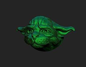 Cat-Yoda 3D printable model