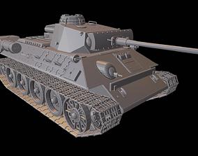 panzerkampfwagen T 34 PzKpfw III tanks 3D printable model