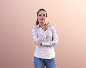3D asset Juliette 10806 - Business Woman Talking And