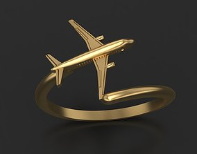 Ring plane 3D print model