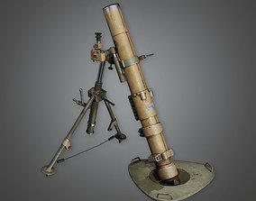 Military Mortar 01 - MLT - PBR Game Ready 3D asset