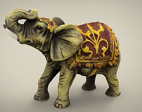 ELEPHANT 3D model VR / AR ready mammal