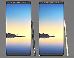 3D model Samsung Galaxy Note 8