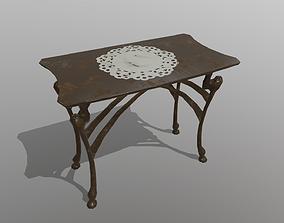 Side Table 3D model VR / AR ready PBR