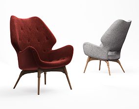 3D model Grazia and co B230 and B230H Contour armchair