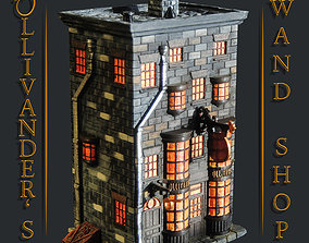 3D printable model Ollivanders Wand Shop - Diagon Alley 2