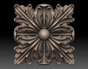 3D print model Round rosette