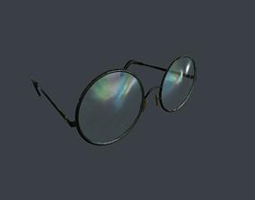 Old Glasses v2 3D asset