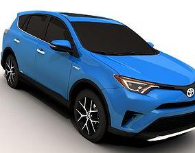 Toyota Rav4 2016 3D model realtime