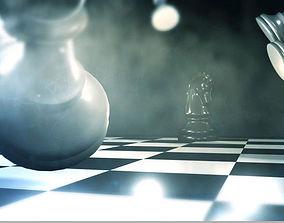 Chess Set fbx 3D