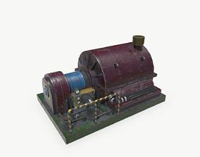 Industrial Turbine 3D model low-poly