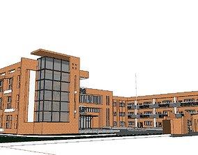 Region-City-School 90 3D model