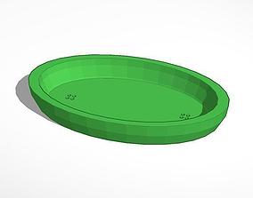3D printable model soap bar holder