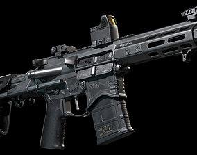 Springfield Armory Saint edge PDW ar15 pistol 3D asset