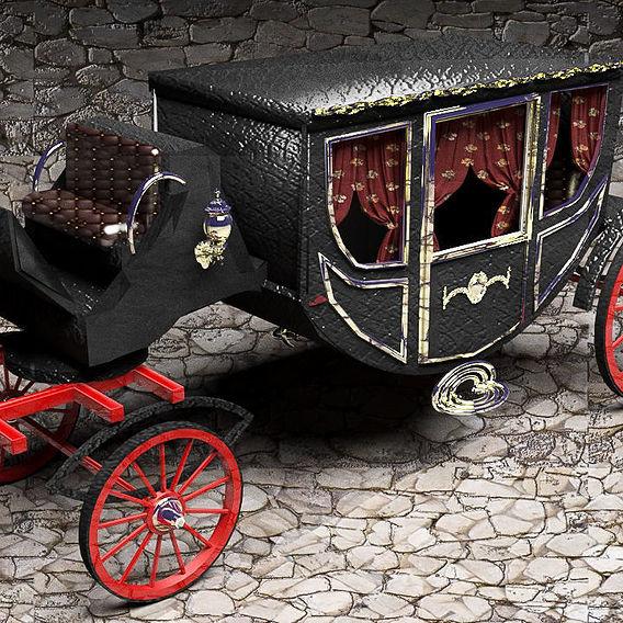 Luxury Horse Carriage